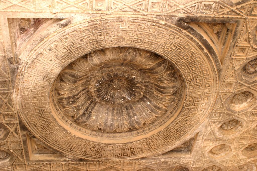 Dieses Fresco im Baal-Tempel von Palmyra gehört zu den schönsten, die ich auf meinen Reisen gesehen habe.