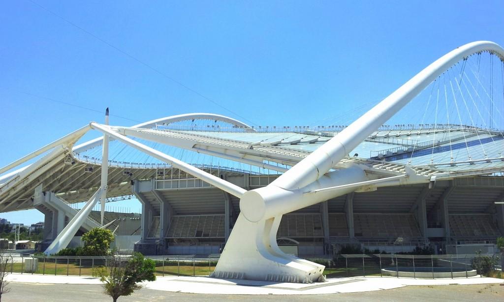 Das Olympiastadion Spyridon Louis wird heute nur noch für Spiele der Nationalmannschaft genutzt. Die Frage ist wie lange noch. Der Unterhalt ist teuer.