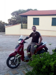 Mofa auf Chios