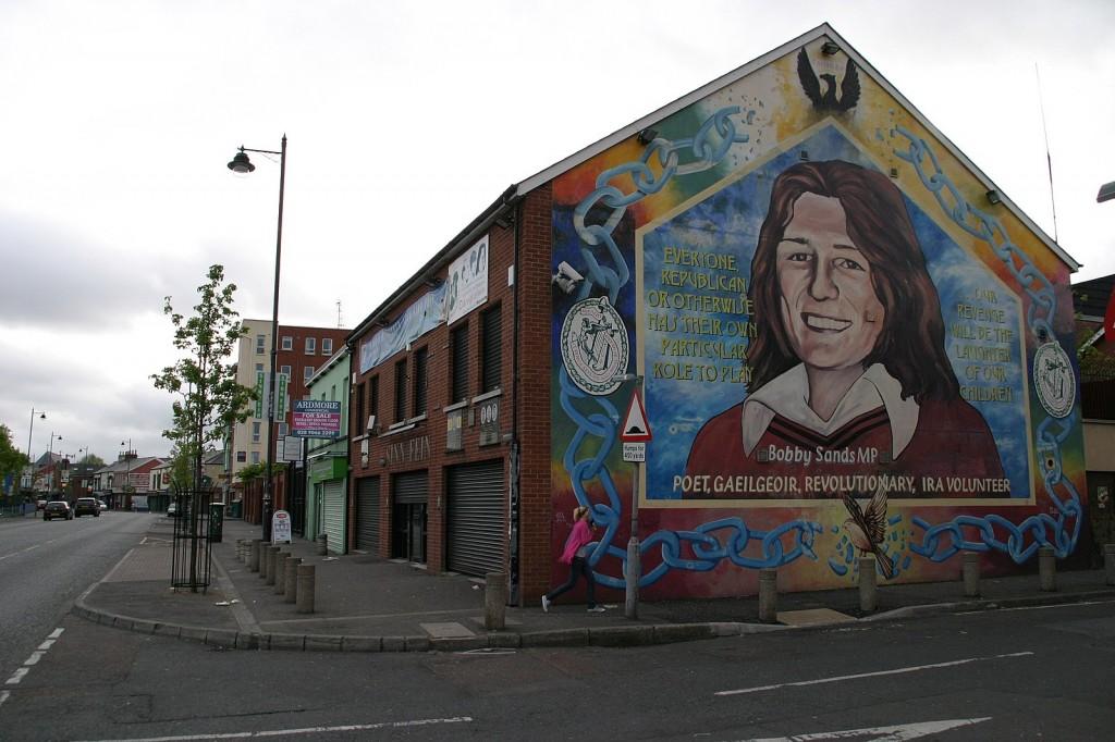 Bobby Sands war eine der Ikonen des Widerstands der irisch-republikanischen Aktivisten.