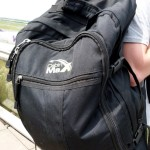 Cabin Max backpack for handluggage in use – Review