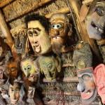 karnevalsmasken holzkünstler litauen