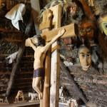 Holz Kruzifix Litauen