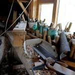 Holzkünstler Werkstatt in Litauen