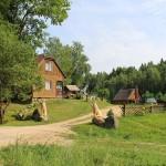 Garten Holzkünstler Holzskulpturen