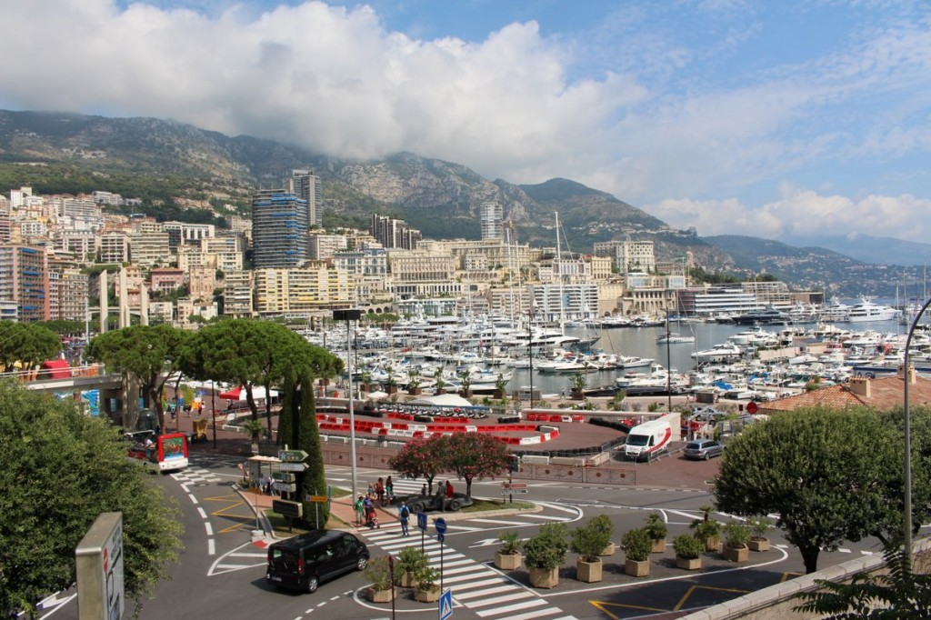 Der Hafen von Monaco.