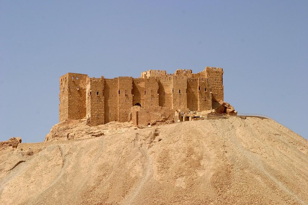 Araberburg Qalat Ibn Ma'n Palmyra Syrien