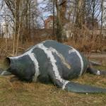 Dinosaurier gestrandet im Spreepark