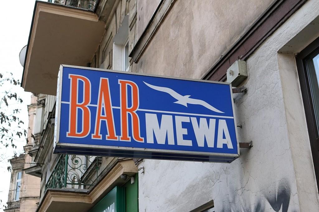 Milchbar Mewa Wroclaw Bar mleczny Breslau