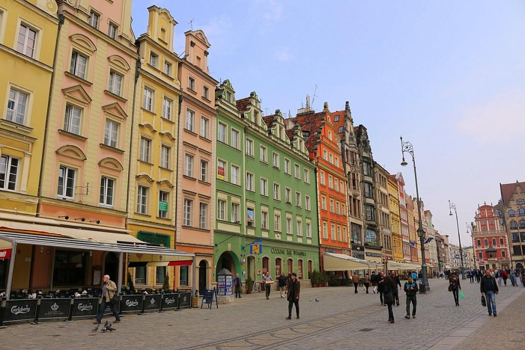 breslau marktplatz wroclaw rynek