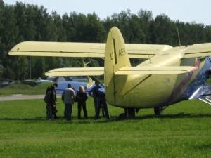 Beim Vilnius Skydiving Club wird unter anderem aus diesen AN-2 abgesprungen.