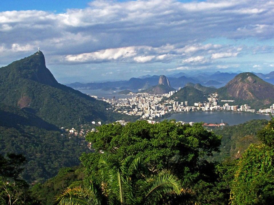 Tijuca, Rio Wald, Stadtwald, Urwald,Aussicht