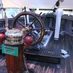 Steuerrad Fram Schiff Antarktis-Expedition Amundsen