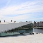 Oper Oslo Hafen Norwegen
