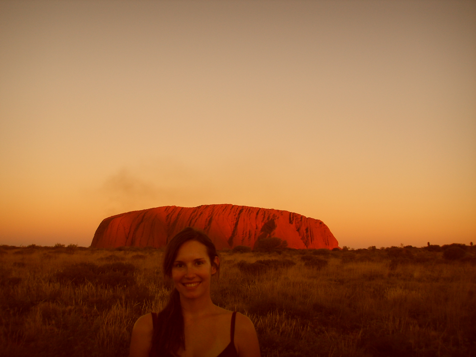 Ayers Rock Uluru Australien Stein Felsen Wüste Sehenswürdigkeit