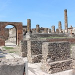 Pompeji Forum Jupitertempel