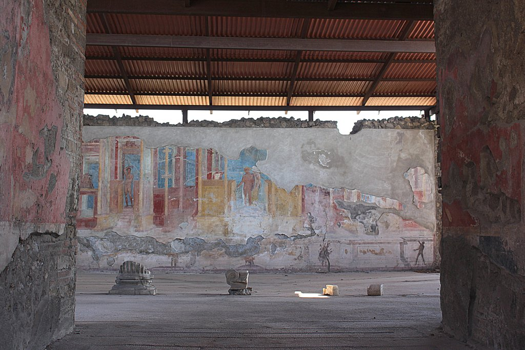 Wandmalereien Pompeji Ausgrbungsstätte