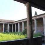 Innenhof Haus Pompeji