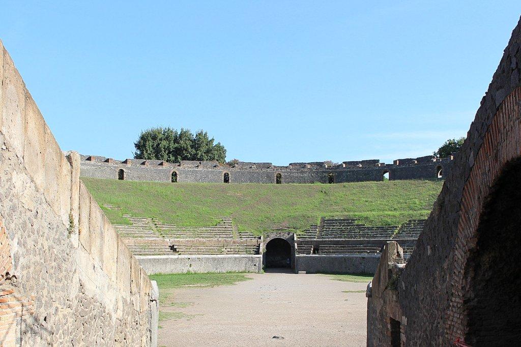Pompeji Amphitheater Arena