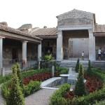 Atrium Pompeji Haus Garten Hinterhof