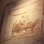 Bordell Pompeji Wandmalerei