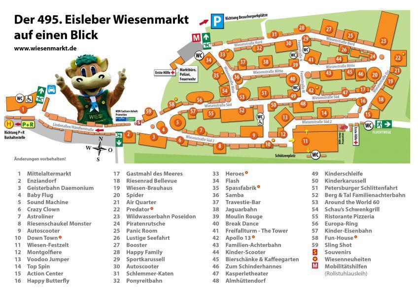 Lageplan Eisleber Wiesenmarkt 2016