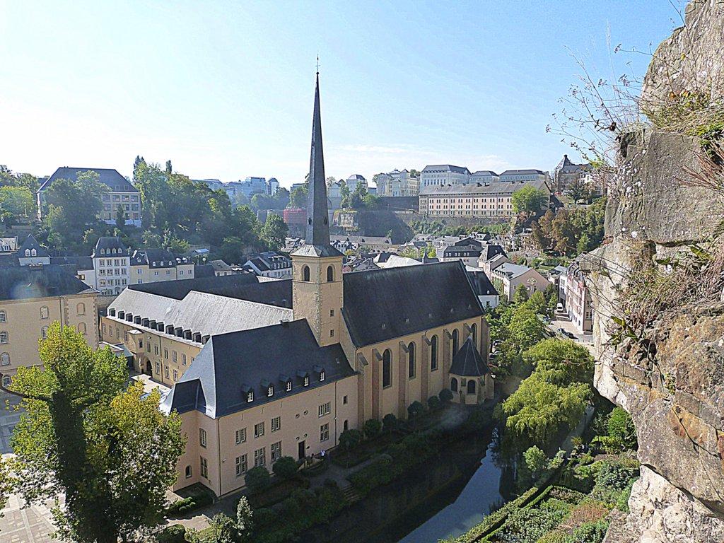 Grund und Alzette in Luxemburg