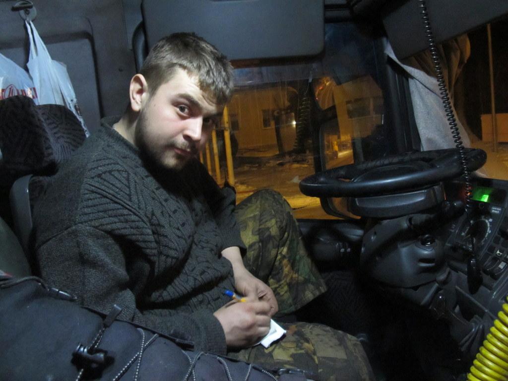 LKW Fahrer Russland Sibirien