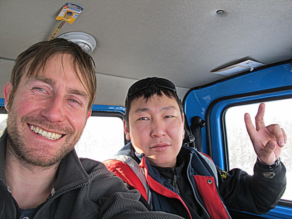 Iwan hatte ich schon einmal 4000 Kilometer weiter im Westen getroffen.