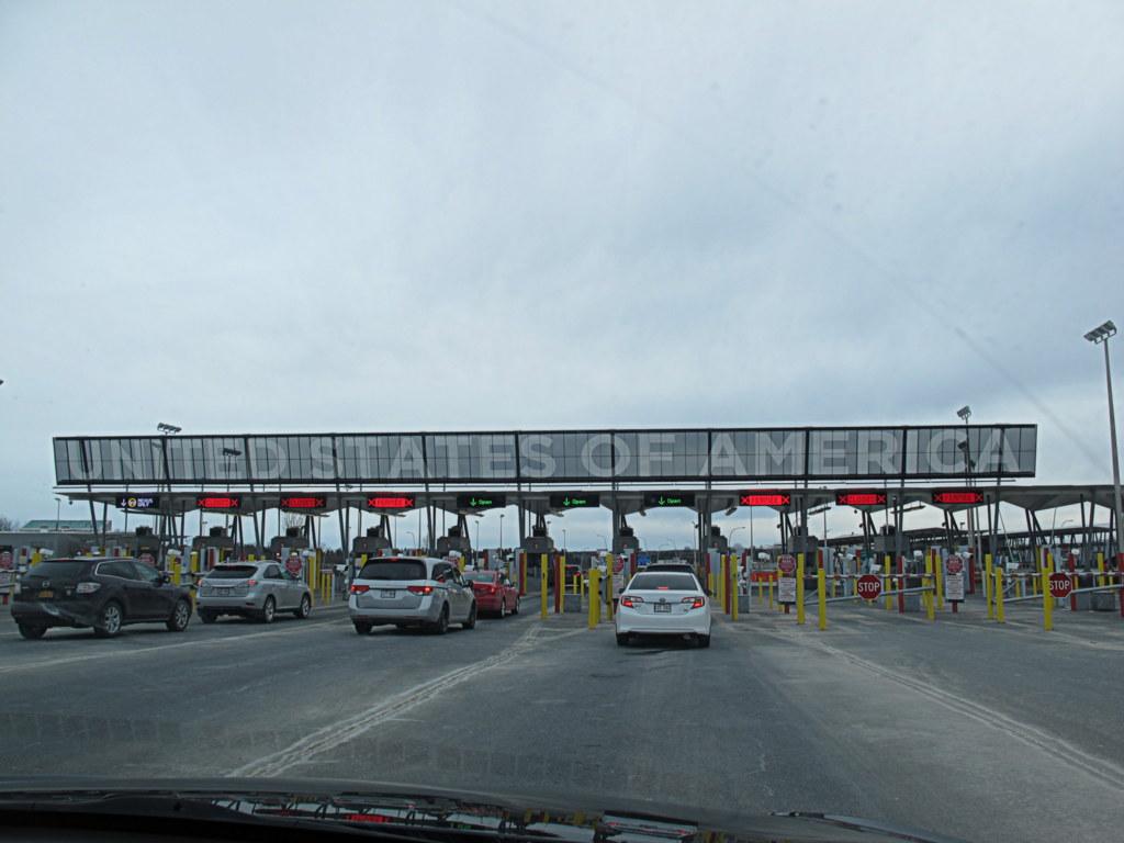 An der Grenze der USA zu Kanada gab es ein paar Probleme.