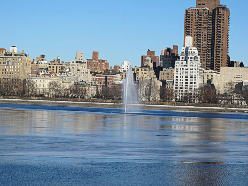 Das ist nicht die Peißnitz, es ist der Central Park in New York.