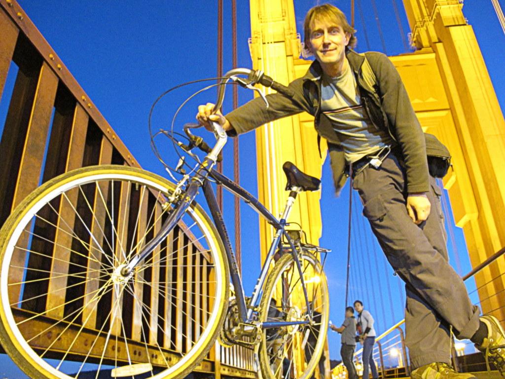 Mit dem Fahrrad zur Golden Gate Bridge