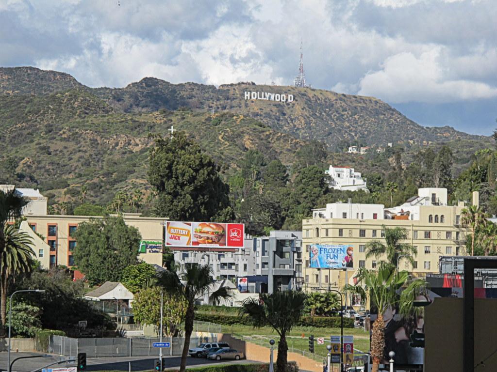 Das berühmte Hollywood-Zeichen kennt wohl jeder.