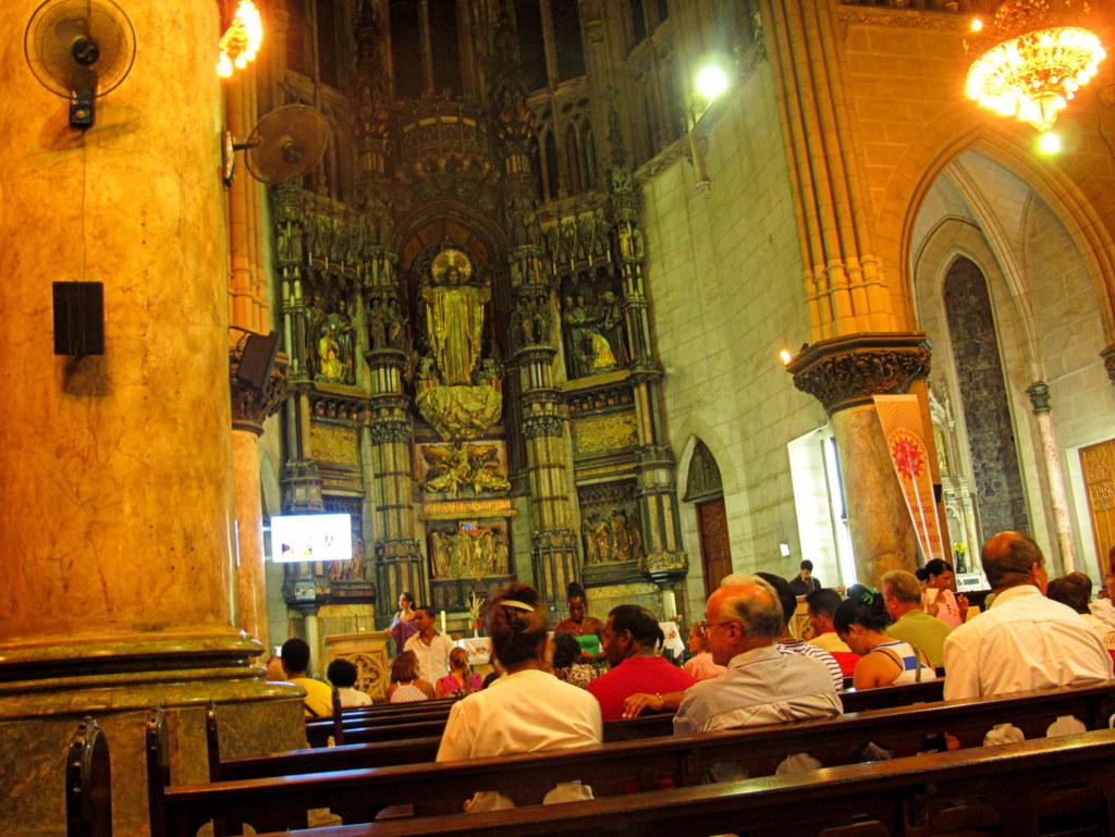 Ostern in einer katholischen Kirche in Havanna.
