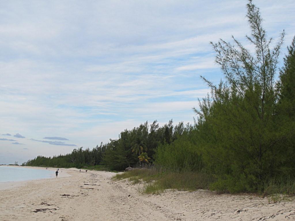 Das war mein Hotel auf den Bahamas.
