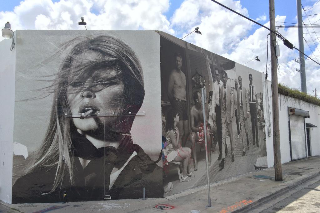 Brigitte Bardot Mural Wynwood, Miami