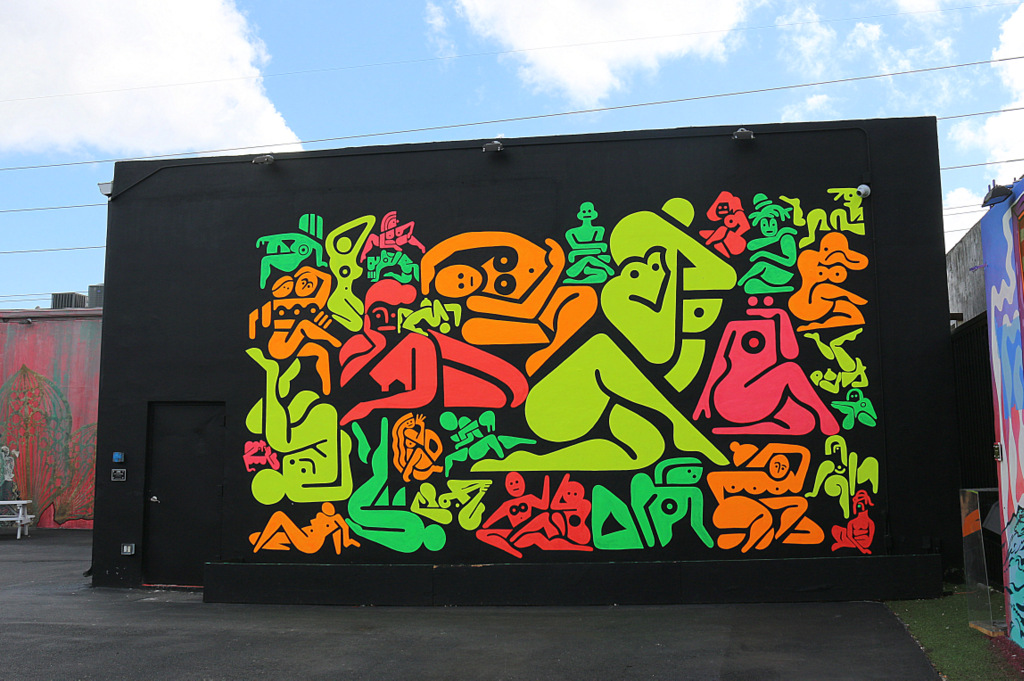 Ryan McGinness in Wynwood Walls