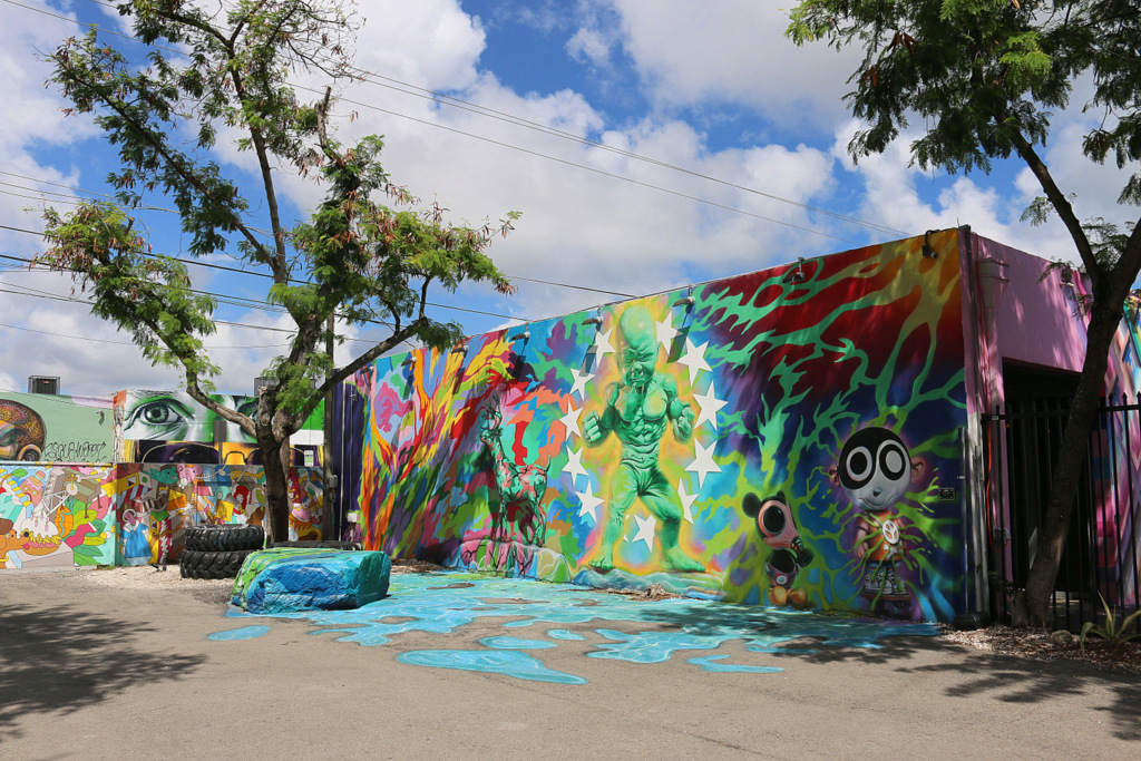Ron English at Wynwood Walls