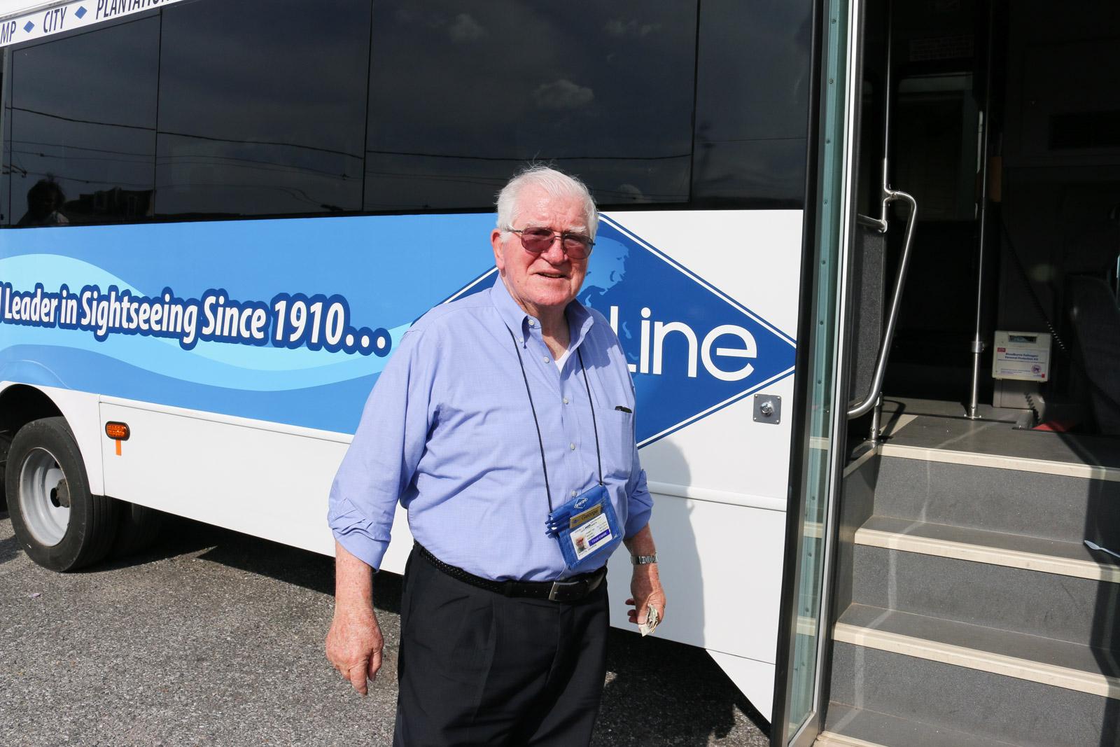 George Stutts führt seit vielen Jahren Touristen durch New Orleans. Auch seine Familie war von Hurrikan Katrina betroffen.