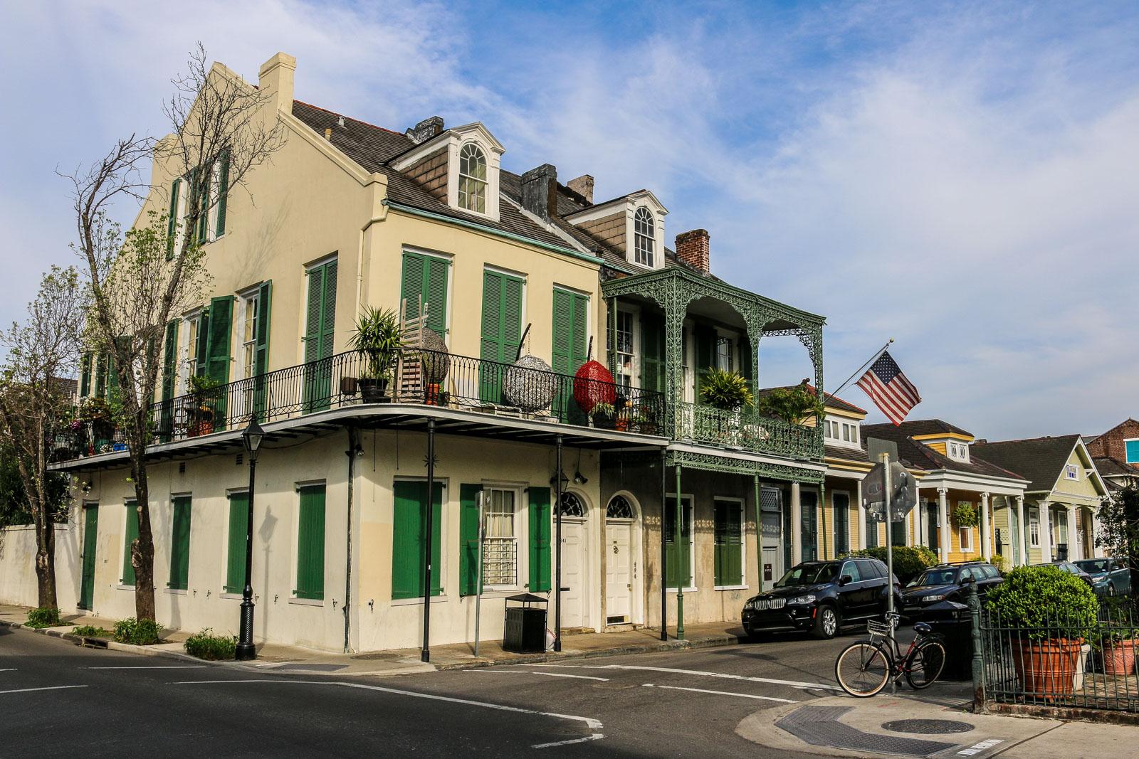 Wäre es nur um die Häuser im French Quarter gegangen, man hätte New Orleans nicht wieder aufgebaut.