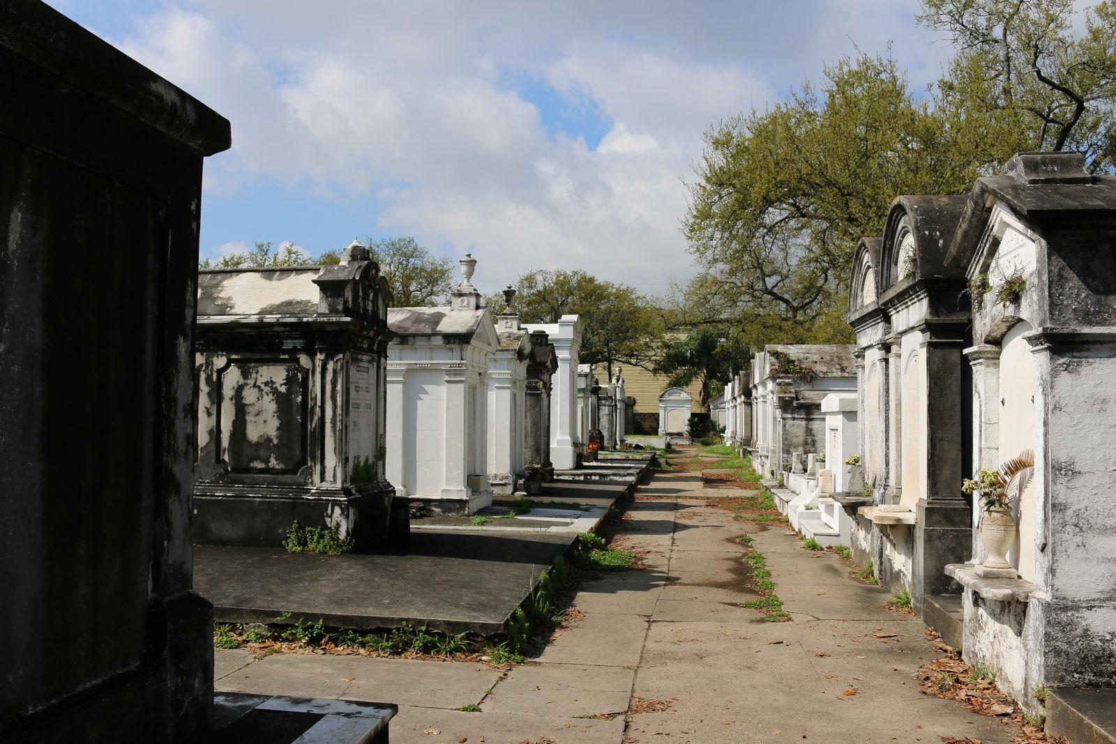 So schön kann der Tod sein - ein Friedhof in New Orleans.