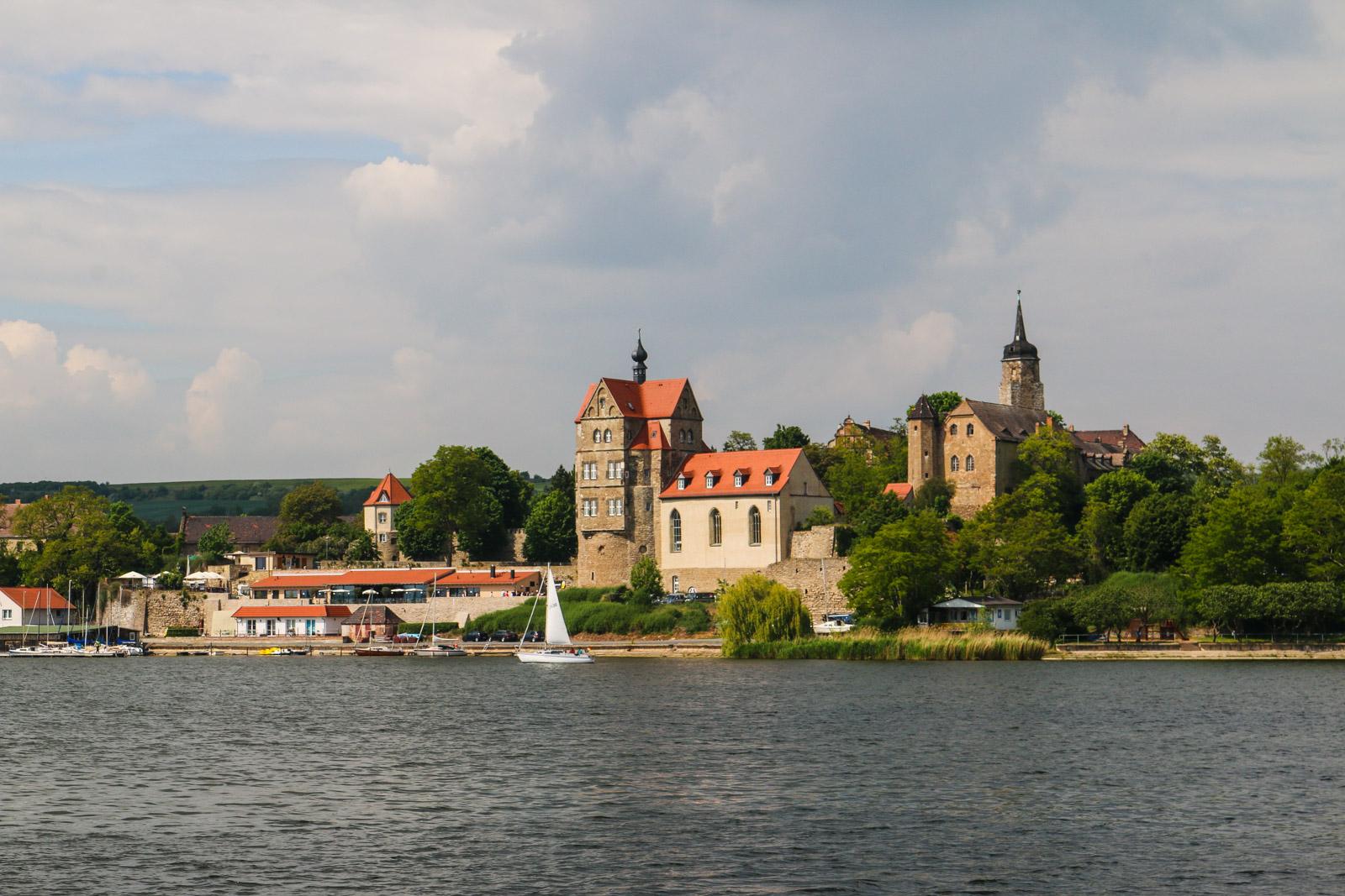 This is Seeburg castle near my hometown Eisleben, Germany. Germany is beautiful, isn't it?