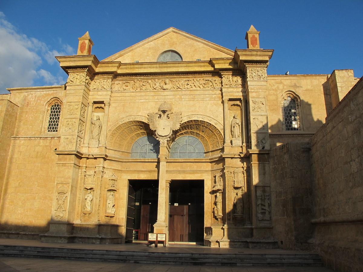 Die Kathedrale Santa María la Menor ist die älteste Kirche der Amerikas.