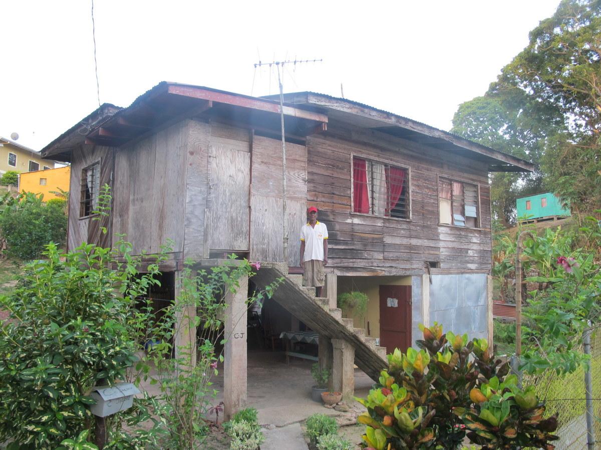 Platz ist auch in der kleinsten Hütte in Trinidad und Tobago.