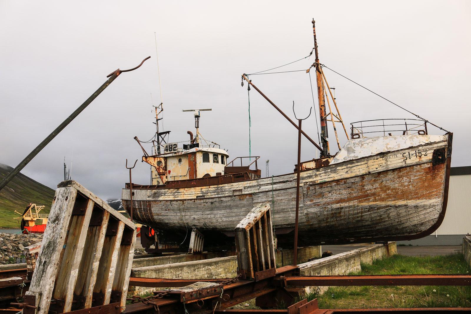 Siglufjordur Fischerboot