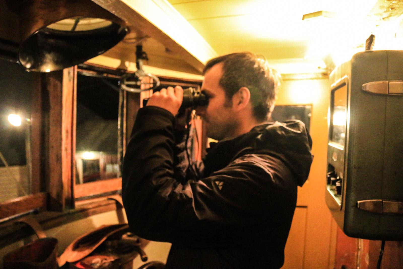 Ich als Fischkutter-Kapitän. Na wie wäre es?