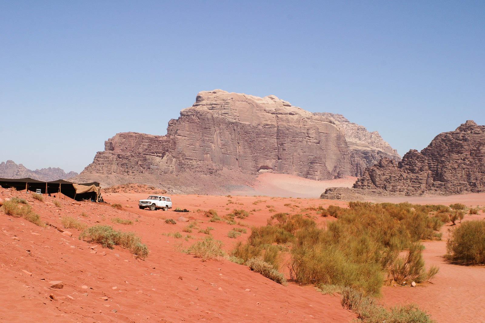 Das Wadi Rum in Jordanien ist vermutlich eine der schönsten Wüsten der Welt.