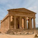 Tal der Tempel Agrigento Concordia-Tempel