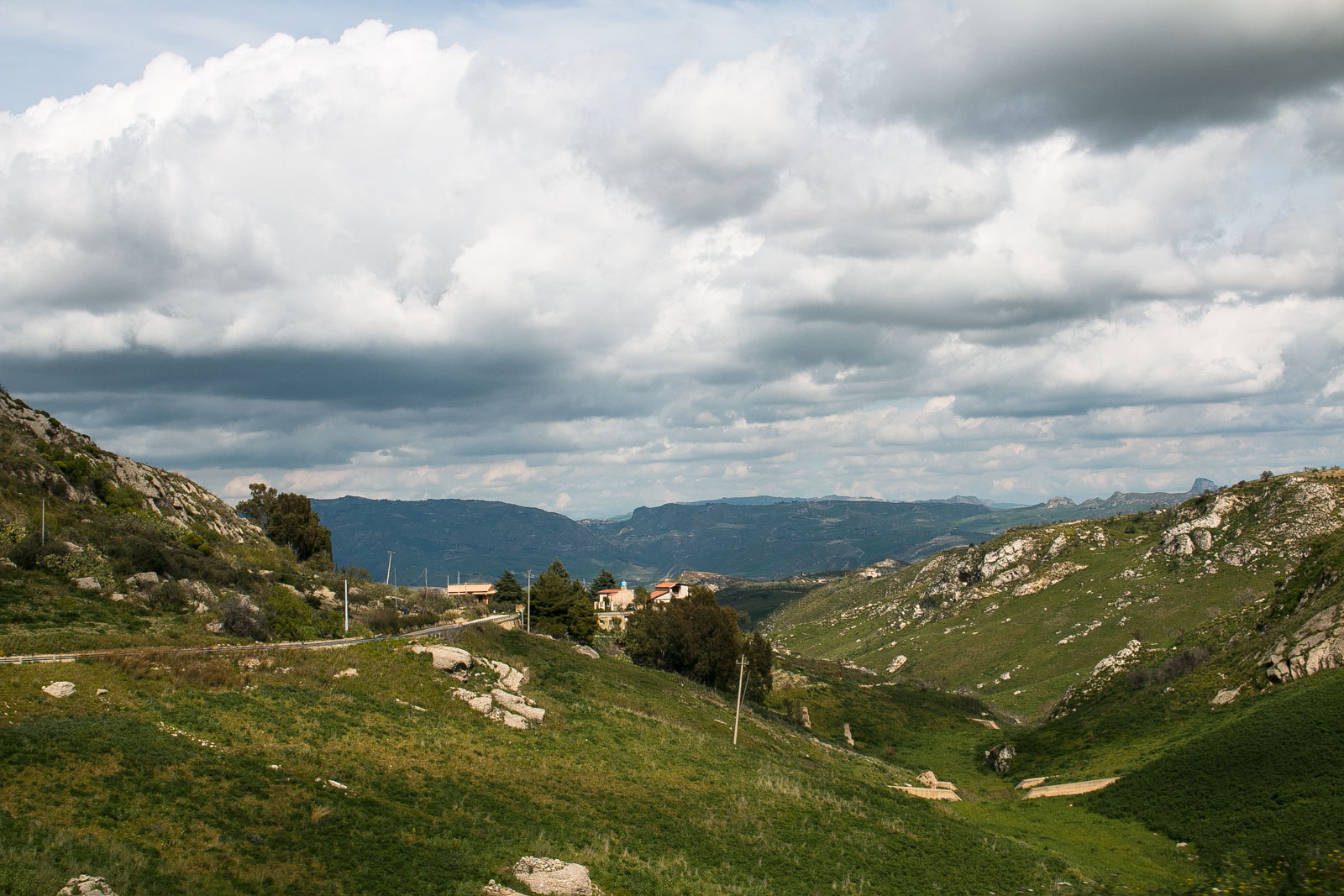 Bergland Sizilien