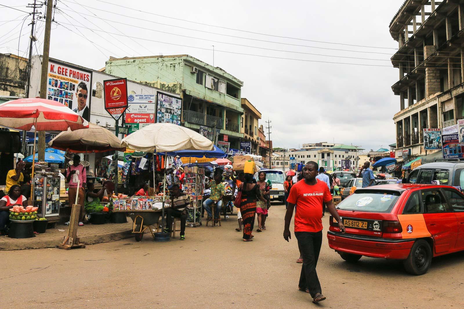 Kumasi Straßen